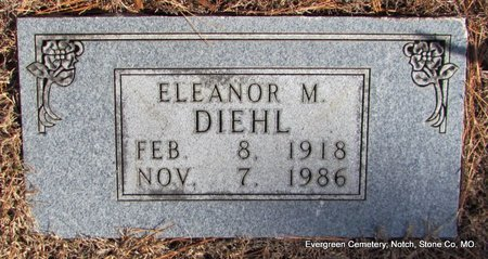 DIEHL, ELEANOR MARTHA - Stone County, Missouri | ELEANOR MARTHA DIEHL - Missouri Gravestone Photos