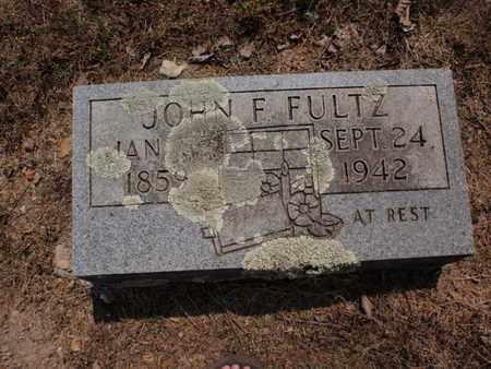 FULTZ, JOHN F - Stone County, Missouri | JOHN F FULTZ - Missouri Gravestone Photos