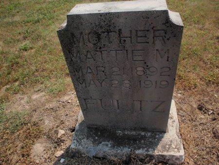 FULTZ, MATTIE M - Stone County, Missouri | MATTIE M FULTZ - Missouri Gravestone Photos