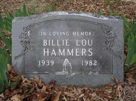 HAMMERS, BILLIE LOU - Stone County, Missouri | BILLIE LOU HAMMERS - Missouri Gravestone Photos