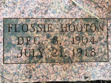 HOOTON, FLOSSIE MARIE - Stone County, Missouri | FLOSSIE MARIE HOOTON - Missouri Gravestone Photos