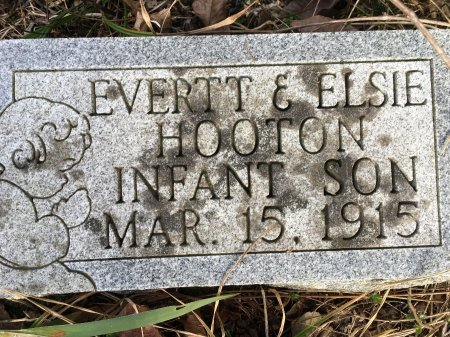 HOOTON, INFANT SON - Stone County, Missouri | INFANT SON HOOTON - Missouri Gravestone Photos