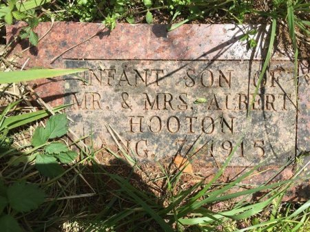 HOOTON, INFANT SON - Stone County, Missouri | INFANT SON HOOTON - Missouri Gravestone Photos