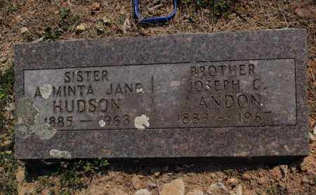 HUDSON, ARMINTA JANE - Stone County, Missouri | ARMINTA JANE HUDSON - Missouri Gravestone Photos