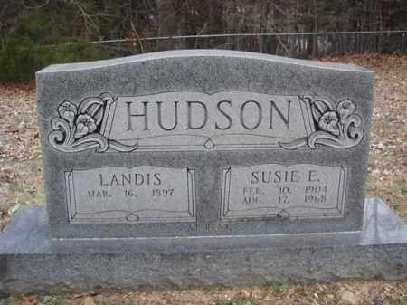 PITTS HUDSON, SUSIE E - Stone County, Missouri | SUSIE E PITTS HUDSON - Missouri Gravestone Photos