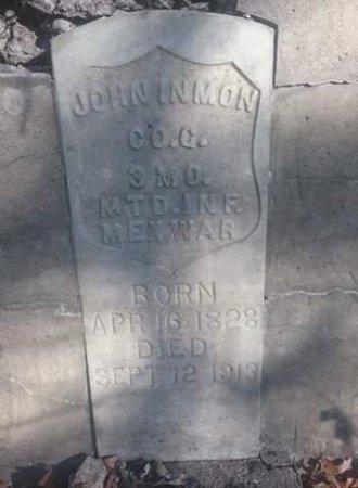 INMON, JOHN WILLIAM (VETERAN MEX, CW) - Stone County, Missouri   JOHN WILLIAM (VETERAN MEX, CW) INMON - Missouri Gravestone Photos