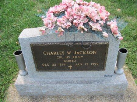 JACKSON, CHARLES W.  (VETERAN KOR)  - Stone County, Missouri | CHARLES W.  (VETERAN KOR)  JACKSON - Missouri Gravestone Photos