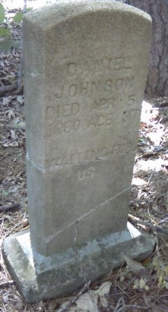 JOHNSON, DANIEL - Stone County, Missouri   DANIEL JOHNSON - Missouri Gravestone Photos