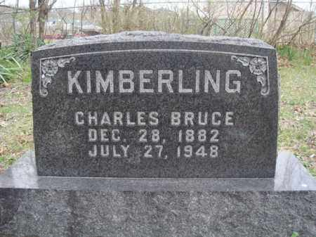KIMBERLING, CHARLES BRUCE - Stone County, Missouri   CHARLES BRUCE KIMBERLING - Missouri Gravestone Photos