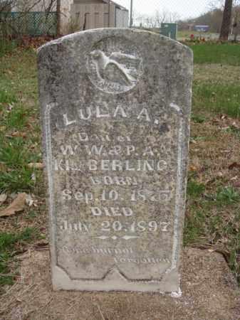KIMBERLING, LULA A - Stone County, Missouri   LULA A KIMBERLING - Missouri Gravestone Photos