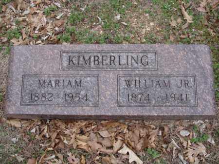 KIMBERLING, JR, WILLIAM - Stone County, Missouri | WILLIAM KIMBERLING, JR - Missouri Gravestone Photos