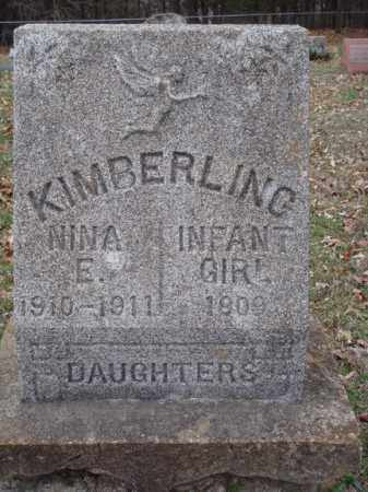 KIMBERLING, INFANT GIRL - Stone County, Missouri | INFANT GIRL KIMBERLING - Missouri Gravestone Photos