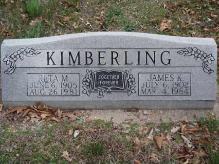 KIMBERLING, JAMES K - Stone County, Missouri | JAMES K KIMBERLING - Missouri Gravestone Photos