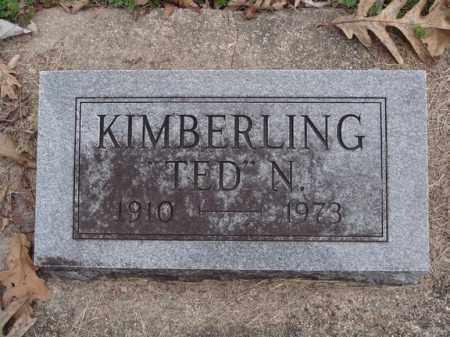 KIMBERLING, TED N - Stone County, Missouri | TED N KIMBERLING - Missouri Gravestone Photos