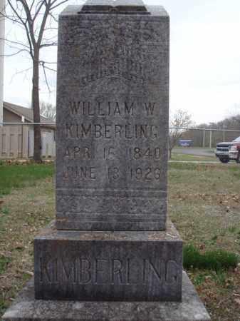 KIMBERLING, WILLIAM W - Stone County, Missouri   WILLIAM W KIMBERLING - Missouri Gravestone Photos