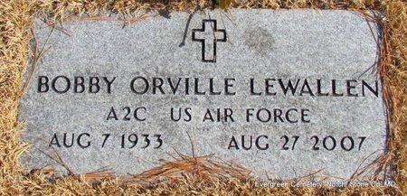 LEWALLEN (VETERAN), BOBBY ORVILLE - Stone County, Missouri | BOBBY ORVILLE LEWALLEN (VETERAN) - Missouri Gravestone Photos