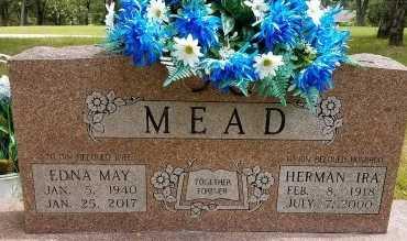 MEAD, EDNA MAY - Stone County, Missouri | EDNA MAY MEAD - Missouri Gravestone Photos
