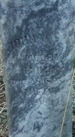 MOODY, JOHN MONROE - Stone County, Missouri | JOHN MONROE MOODY - Missouri Gravestone Photos