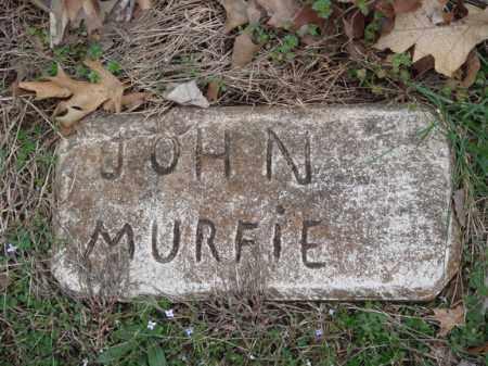 MURFIE, JOHN - Stone County, Missouri | JOHN MURFIE - Missouri Gravestone Photos
