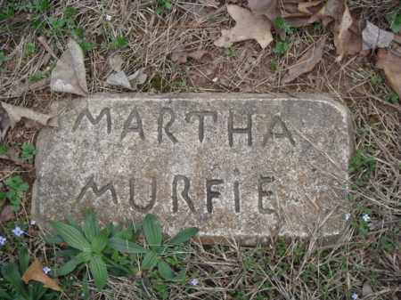 MURFIE, MARTHA - Stone County, Missouri | MARTHA MURFIE - Missouri Gravestone Photos