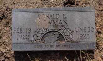 NEWMAN, DONALD E - Stone County, Missouri | DONALD E NEWMAN - Missouri Gravestone Photos