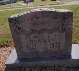 NEWMAN, FLORENCE A - Stone County, Missouri | FLORENCE A NEWMAN - Missouri Gravestone Photos