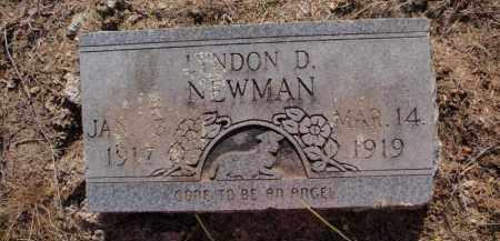 NEWMAN, LYNDON D - Stone County, Missouri   LYNDON D NEWMAN - Missouri Gravestone Photos