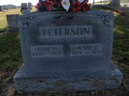 PETERSON, JESSIE J - Stone County, Missouri | JESSIE J PETERSON - Missouri Gravestone Photos