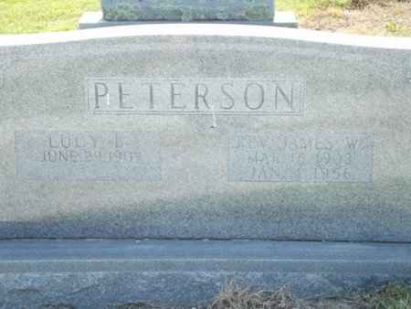 PETERSON, JAMES W (REVEREND) - Stone County, Missouri | JAMES W (REVEREND) PETERSON - Missouri Gravestone Photos