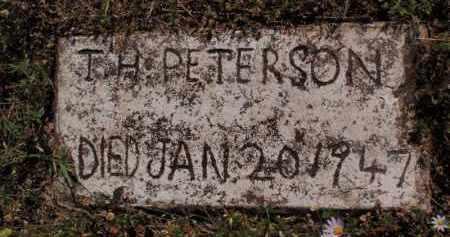 PETERSON, THOMAS H - Stone County, Missouri | THOMAS H PETERSON - Missouri Gravestone Photos