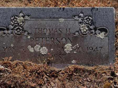 PETERSON, THOMAS H (SECOND STONE) - Stone County, Missouri | THOMAS H (SECOND STONE) PETERSON - Missouri Gravestone Photos