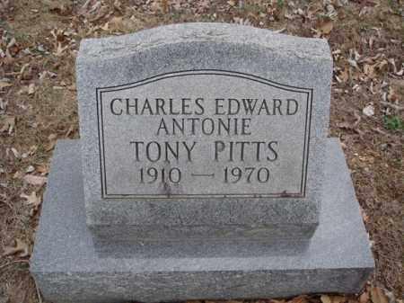 "PITTS, CHARLES EDWARD ANTONIE ""TONY"" - Stone County, Missouri | CHARLES EDWARD ANTONIE ""TONY"" PITTS - Missouri Gravestone Photos"
