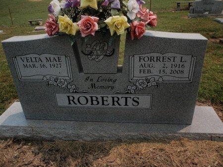 ROBERTS, FORREST L - Stone County, Missouri   FORREST L ROBERTS - Missouri Gravestone Photos