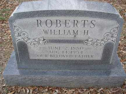 ROBERTS, WILLIAM H - Stone County, Missouri | WILLIAM H ROBERTS - Missouri Gravestone Photos