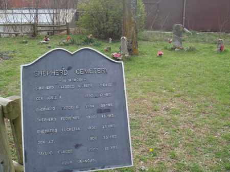 *SHEPHERD MARKER,  - Stone County, Missouri    *SHEPHERD MARKER - Missouri Gravestone Photos