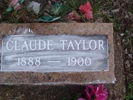 TAYLOR, CLAUDE - Stone County, Missouri | CLAUDE TAYLOR - Missouri Gravestone Photos