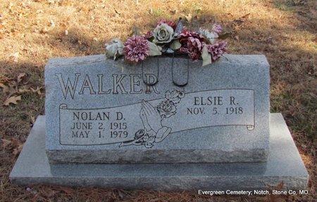 VIETH WALKER, ELSIE R - Stone County, Missouri | ELSIE R VIETH WALKER - Missouri Gravestone Photos