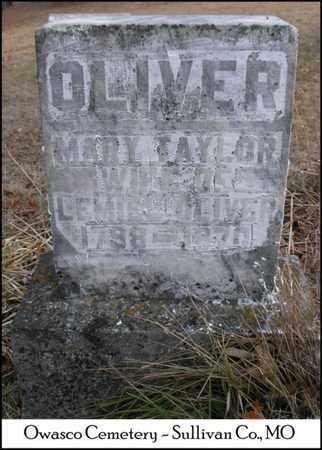 OLIVER, MARY ANN - Sullivan County, Missouri | MARY ANN OLIVER - Missouri Gravestone Photos