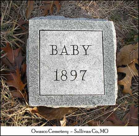 TAYLOR, INFANT - Sullivan County, Missouri   INFANT TAYLOR - Missouri Gravestone Photos