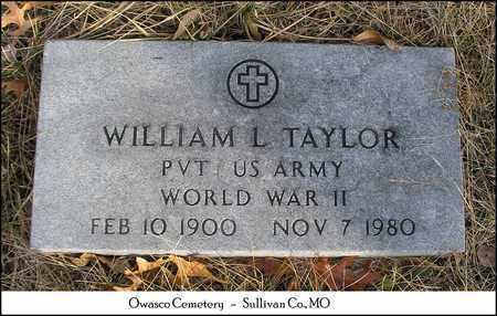 TAYLOR, WILLIAM LAFAYETTE  VETERAN WWII - Sullivan County, Missouri | WILLIAM LAFAYETTE  VETERAN WWII TAYLOR - Missouri Gravestone Photos