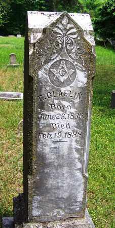 CLAFLIN, E - Taney County, Missouri | E CLAFLIN - Missouri Gravestone Photos