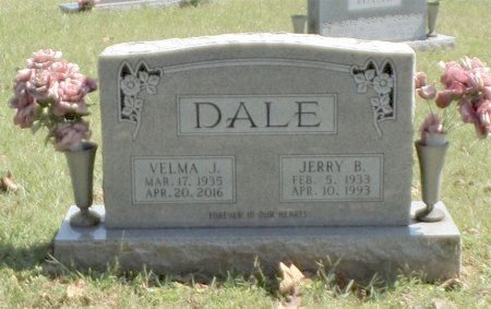 DALE, JERRY BAKER - Taney County, Missouri | JERRY BAKER DALE - Missouri Gravestone Photos