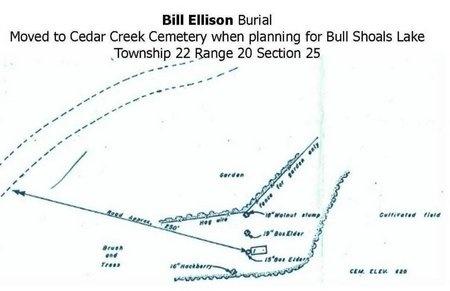 ELLISON, BILL - Taney County, Missouri   BILL ELLISON - Missouri Gravestone Photos