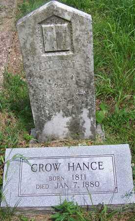 HANCE, CROW - Taney County, Missouri | CROW HANCE - Missouri Gravestone Photos