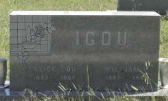 IGOU, WILLIAM - Taney County, Missouri | WILLIAM IGOU - Missouri Gravestone Photos