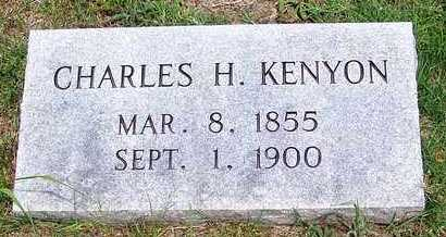 KENYON, CHARLES - Taney County, Missouri | CHARLES KENYON - Missouri Gravestone Photos