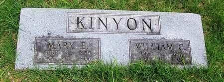 KINYON, WILLIAM C - Taney County, Missouri | WILLIAM C KINYON - Missouri Gravestone Photos