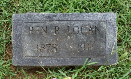 LOGAN, BENJAMIN RADFORD - Taney County, Missouri | BENJAMIN RADFORD LOGAN - Missouri Gravestone Photos