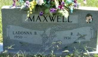"MAXWELL, RONALD J ""R J"" - Taney County, Missouri | RONALD J ""R J"" MAXWELL - Missouri Gravestone Photos"