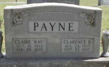 "HAGEE PAYNE, CLAIRE RAE ""KAY"" - Taney County, Missouri | CLAIRE RAE ""KAY"" HAGEE PAYNE - Missouri Gravestone Photos"